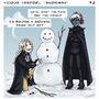 VV comic: Snowman by LuuPetitek