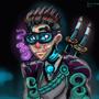 CyberPunk Samurai by IsaacChamplain