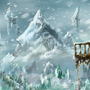 Snowy mountains by Tylerroyle10