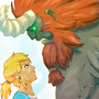 Link vs Lynel