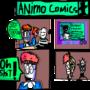 Animo Comics 1# (2015) by BluestoneTE
