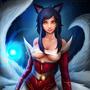 Ahri the Nine-tailed Fox by OneManRektArmy
