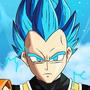 Goku and Vegeta SSB by Plazmix