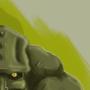 Swamp Creature by sketchywarior