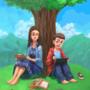 Under the tree where ideas converge by ElvisDavid
