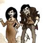 Dereck & Victoria by Rather-Drawn