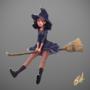 Little witch by ElvisDavid