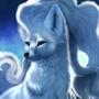Alolan Ninetales and Vulpix by DoodlePaw