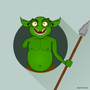 Goblin Warrior by nuxttux