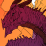 Purple Dragon by TheRaven25