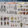 """Introduction to the Medieval Era Theme """"Visual Library"""""""