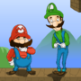 Mario and Luigi by TheMadHamster