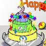 MJ's Birthday by KarstenFranke