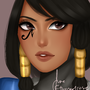 Overwatch: Pharah by etherealrose