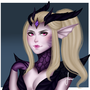 Dragon Sorceress Zyra by etherealrose
