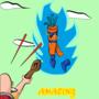 Son goku aka : kakarot. Final form : Super sayan carotte blue by ruchunteur