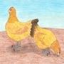 2 chickens by kyrtuck