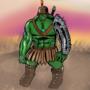 Hulk Drawing by SpeedScape
