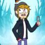 Keek visits Gravity Falls