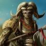 Tribal Minotaur by MelesMeles