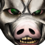 (commission) creepy pig face for River 3 05 2017 by SpanglishHorse
