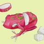 fruit frog by Korrson