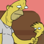 Homer and Bert by ToothpasteHD