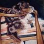 Pastel Dog Portrait by BlackUniGryphon
