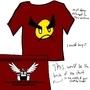Egoraptor angry faic shirt by Zeppelin562