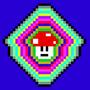 Pixel Shroom Trip by RetroCo