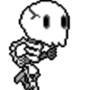 Running Skeleton by ZanySauce