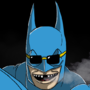 Batman Smoking Something Wonderful by drainzerhg