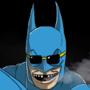 Batman Smoking Something Wonderful