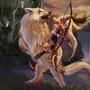 Princess Mononoke- The forest guardian by Idyllicinnocence