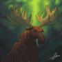 Badass Moose by fabianlpineda