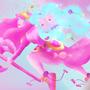 Princess Bubblegum by LjubicaNovakov