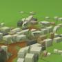 Tiny City - Background Art by zeedox