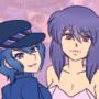 Naoto and Motoko by SyllArtemis