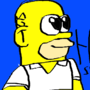 Homer Simpson! by stimpyfan9