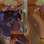 Loud Off & Applejack - Beauty & the Beast by EduardoMartnezGonzle