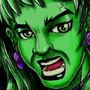 she hulk by hagarrastamnz