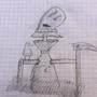 Lol fan art Fiddelsticks by Wokemo