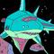 Robot Shark Spaceship