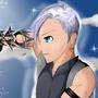 LVL 99 Riku - Kingdom Hearts by PurpleBunnyT