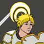Jaune the white knight by SpiKar