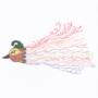 Art #60 -- Tropical Feathered Flourish.