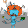 MEESEEKS LEVEL 99 by TheJokerButNotCrazy