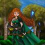 LvL99 Merida from Brave by Michael-Disney