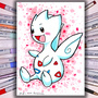 Togetic Copic Marker Illustration by ScribbleFix
