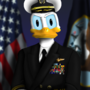 Admiral Donald Duck by AquaFox361